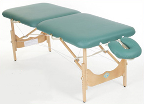 New Wave II Hardwood Massage Table